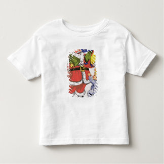 Father Christmas, Victorian Christmas card Toddler T-Shirt