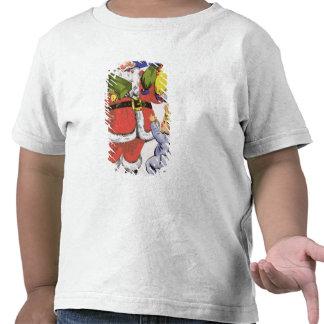 Father Christmas, Victorian Christmas card Tshirt