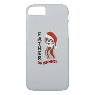 Father Crispness! Bacon iPhone 7 Case