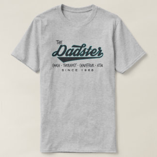 Father 'Dadster' Retro Vintage Custom T-Shirt