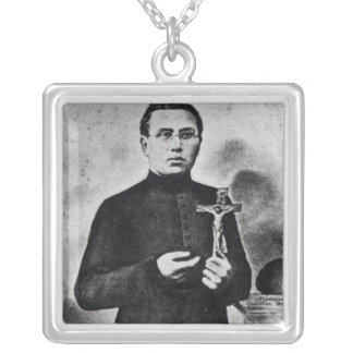 Father Damien Personalized Necklace