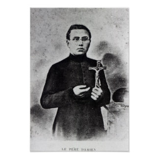 Father Damien Poster