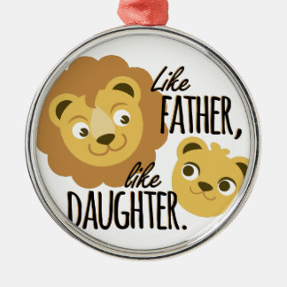 Father Daughter Christmas Ornament