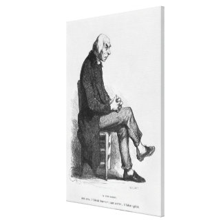 Father Goriot, illustration from 'Le Pere Canvas Print