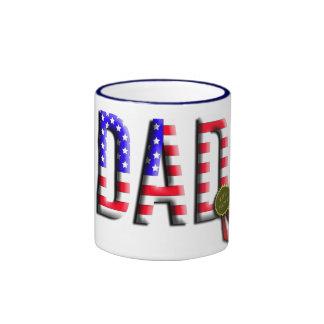 Father Holiday Gifts Ringer Coffee Mug