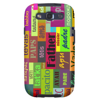 Father in any Language Galaxy S III Case Samsung Galaxy S3 Covers