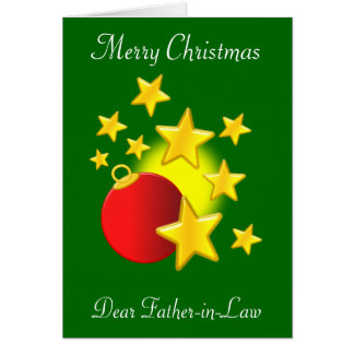 Father-In-Law Christmas Greeting Card