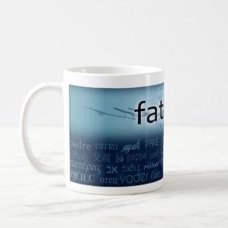 """Father - Languages Coffee Mug"
