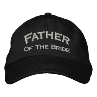 Father Of Bride Embroidered Wedding Hat Embroidered Hats