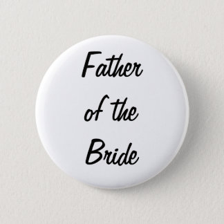 Father of the Bride Badge