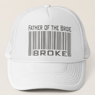 Father of the Bride Broke Trucker Hat