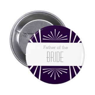 Father of the Bride Button - Choose your color! 2 Inch Round Button