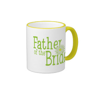 Father of the Bride/ Daisy Ringer Mug