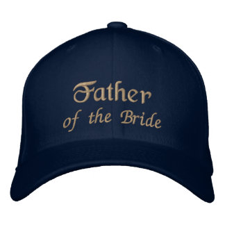 Father of the Bride Hat Embroidered Hat