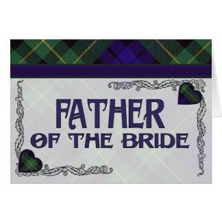 Father of the Bride Invitation - Barclay Tartan