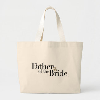 Father Of The Bride Jumbo Tote Bag