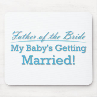 Father of the Bride Mouse Pad