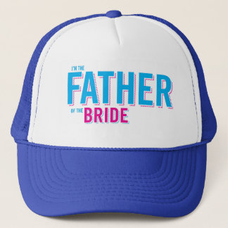 Father of the Bride t-shirt Trucker Hat