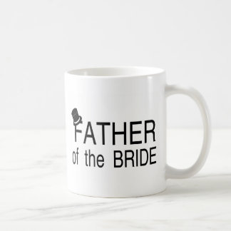 Father Of The Bride Top Hat Basic White Mug