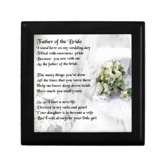 Father of the Bride - Wedding Bouquet Design Gift Box