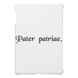 Father of the country case for the iPad mini