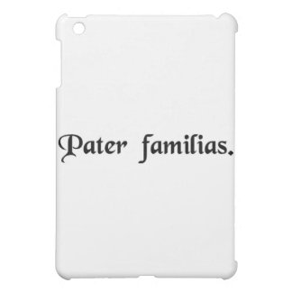 Father of the family iPad mini cases