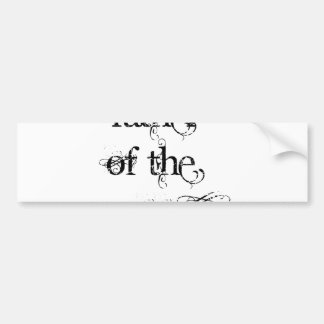 Father of the Groom Bumper Sticker