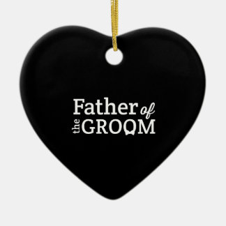 Father of the Groom Christmas Ornament