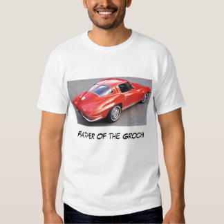Father of the Groom Corvette Shirt