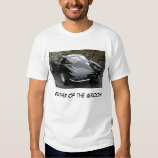 Father of the Groom Corvette Tee Shirt