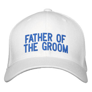 Father of the Groom Embroidered Cap