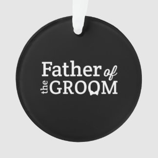 Father of the Groom Ornament