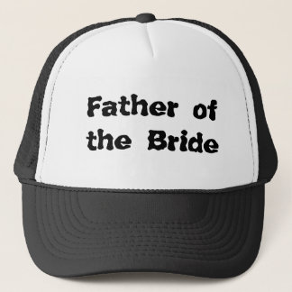 Father ofthe Bride Trucker Hat