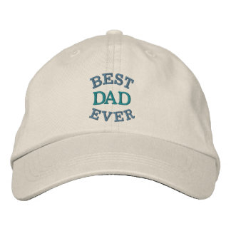 Father s Day Best Dad Embroidered Hat