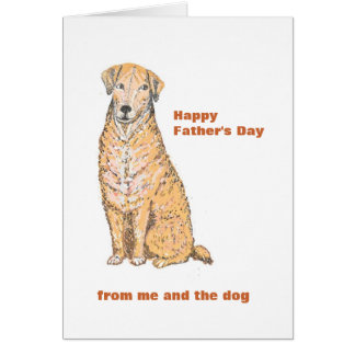 Father s Day Card with Dog