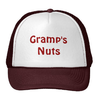 Father s Day Gramp s Nuts Trucker Hats
