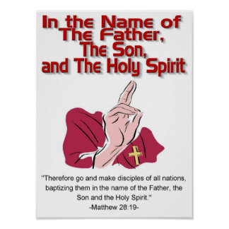 Father, Son, Holy Spirit poster