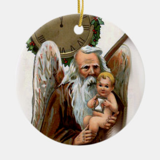 father time christmas ornament