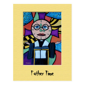 FaThEr TiMe Colorful Postcard