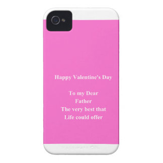 father Valentine's day Case-Mate iPhone 4 Cases