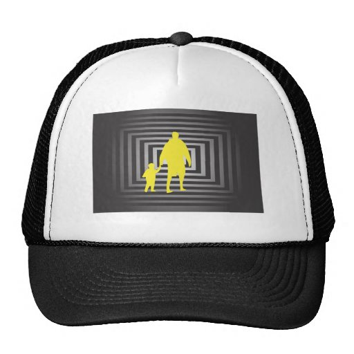 Father With Son Trucker Hat