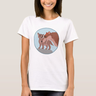 Father Wolf and Pup T-Shirt