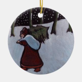 (Father xmas Ornament) Christmas Ornament
