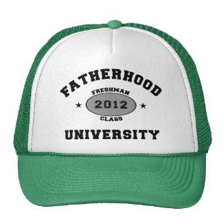 Fatherhood 2012 Freshman Trucker Hats