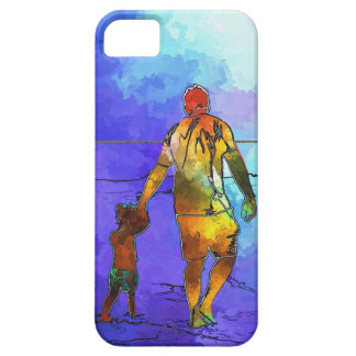 Fatherhood By The Ocean iPhone 5 Cases