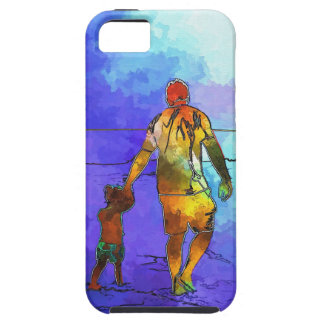Fatherhood By The Ocean iPhone 5 Cover
