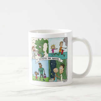 Fathers Are Heroes Coffee Mug