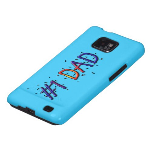 Father's Day #1 Dad Samsung Galaxy S2 Case