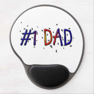 Father's Day #1 Dad Gel Mousepad