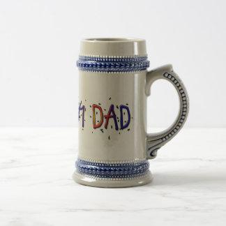 Father's Day #1 Dad Stein Beer Steins